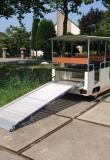 Nieuwe elektrische trein te koop met inrijplaat treinverhuur treinverkoop zonne-energie